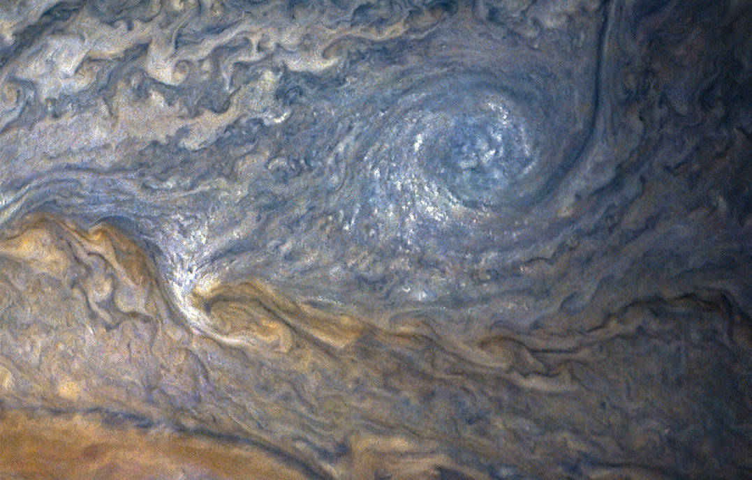 Photo of Jupiter's atmosphere